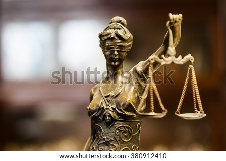 Statue of justice Photo stock ©