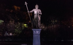 Statue of King Samuel in Sofia
