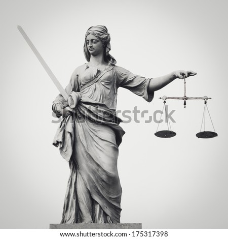 statue of lady justice with...