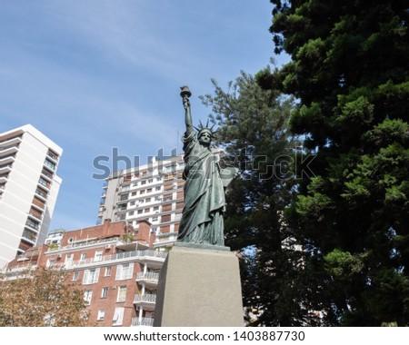 Statue of libertal porteña, Buenos Aires, Argentina #1403887730