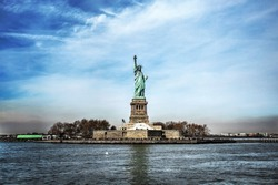 Statue of Liberty. American freedom.