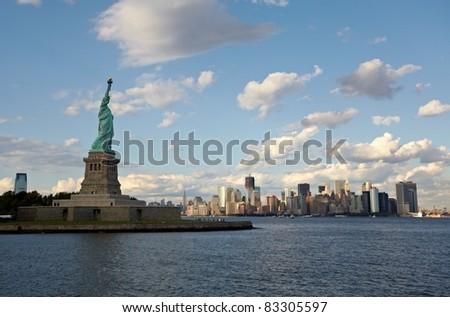 Statue of liberty closeup