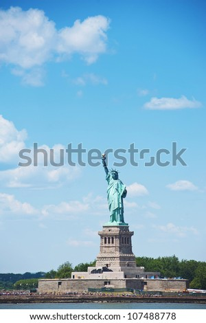 Statue of Liberty, New York City.