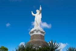 Statue of our Lady Gloria in Laguna City, Santa Catarina State of Brazil.