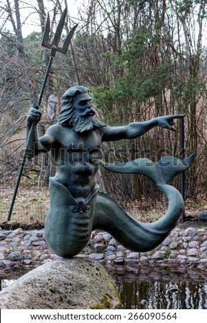 Shutterstock Statue of Poseidon
