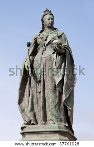 Statue of Queen Victoria in Birmingham,UK