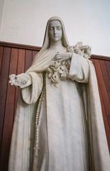 Statue of Saint Therese of Child Jesus catholic church