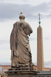 Statue of St. Peter in Vatican