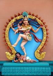 Statue of the dancing god Shiva Nataraja