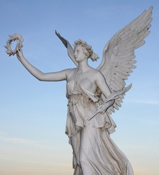 Statue of the goddes Nike