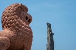 Statue of Thiruvalluvar Kanyakumari, Tamilnadu