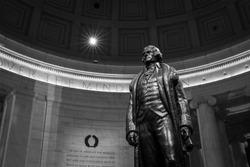 Statue of Thomas Jefferson, Jefferson Memorial | Washington, D.C., USA