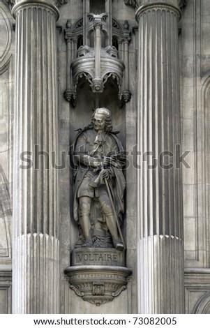 Statue of Voltaire, Paris, France