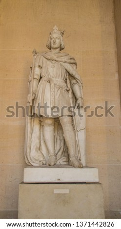 Statues, applied monuments placed on facades and by the squares of European cities #1371442826