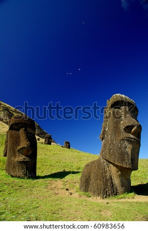 We Were Taking Our Easter Walk In Owen >> Easter Island Rapa Nui Moai Statues Live Science