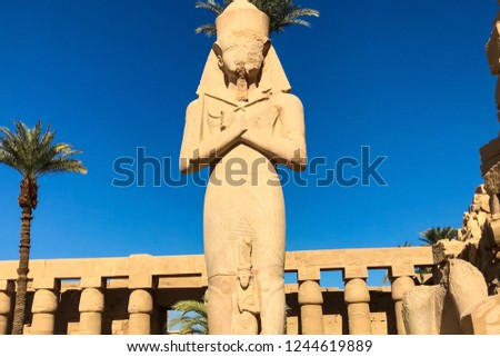 Statues of other Egypt. With the temple monuments megaliths #1244619889