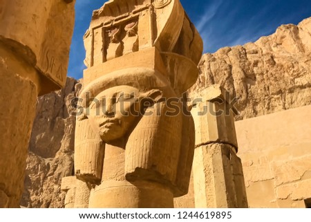 Statues of other Egypt. With the temple monuments megaliths #1244619895
