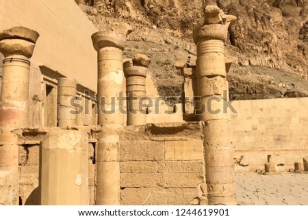 Statues of other Egypt. With the temple monuments megaliths #1244619901