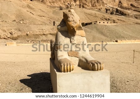 Statues of other Egypt. With the temple monuments megaliths #1244619904