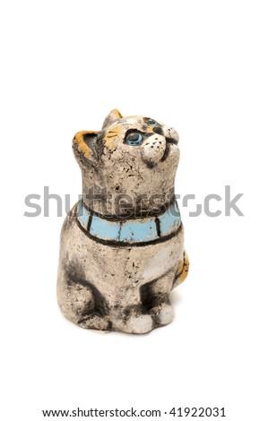 statuette cat