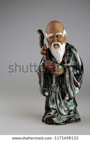 statuette wise chinese