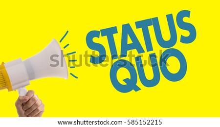 Status Quo Сток-фото ©