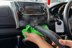 Steam Air Car - Clean the air of the car. Steam heat sterilization in air duct cleaning, disinfection of vehicles.Kill germs, viruses and bacteria with high heat.