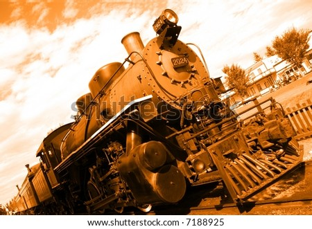Steam Loco - stock photo