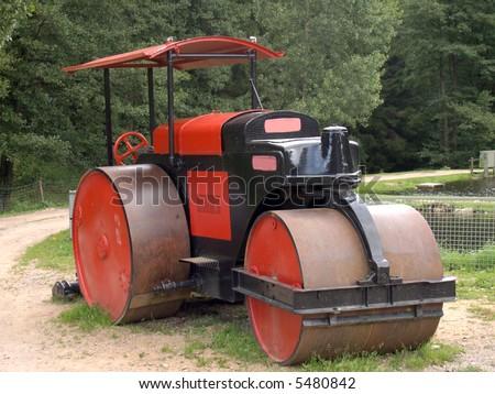 Steam-roller
