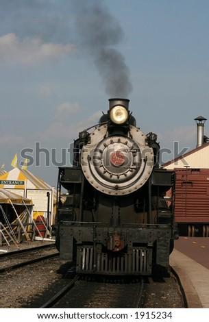 steam train locomotive