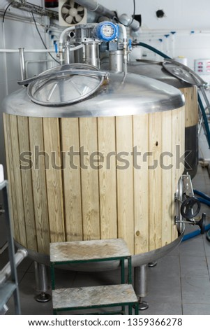 Beer Production Wood Barrel Images and Stock Photos - Avopix com