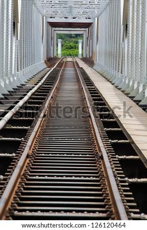 Steel bridge for Train in Madagascar