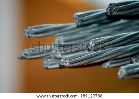 Steel cable texture