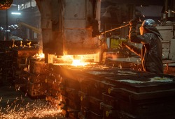 Steel Casting Processes ,Sand Casting and Centrifugal Vertica and horizontal casting