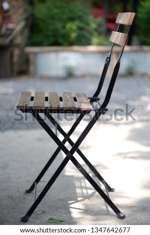 Steel chairs, wooden chairs, single chairs #1347642677