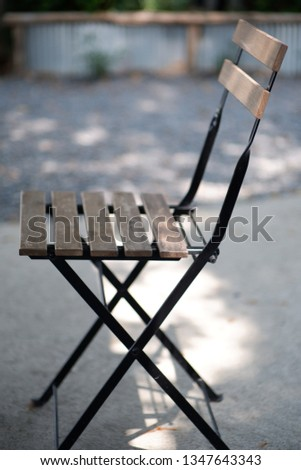 Steel chairs, wooden chairs, single chairs #1347643343