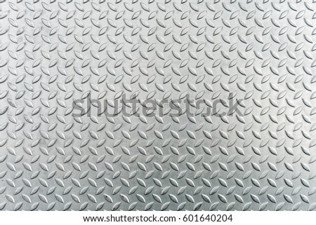Steel checkerplate metal sheet, Metal sheet texture background.