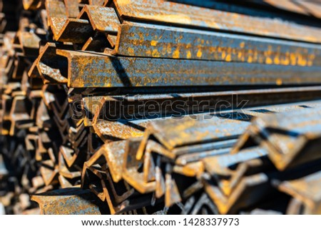 Steel corner. Steel Works Product
