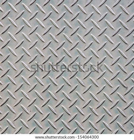 Steel floor pattern background