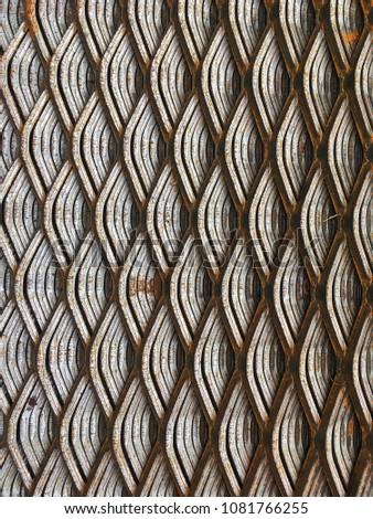 Steel grate, steel Sheet, steel support, steel plate #1081766255