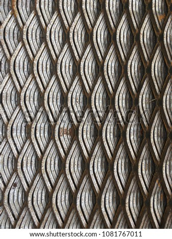 Steel grate, steel Sheet, steel support, steel plate #1081767011