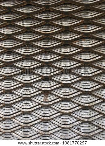 Steel grate, steel Sheet, steel support, steel plate #1081770257