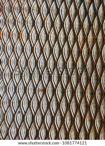 Steel grate, steel Sheet, steel support, steel plate #1081774121