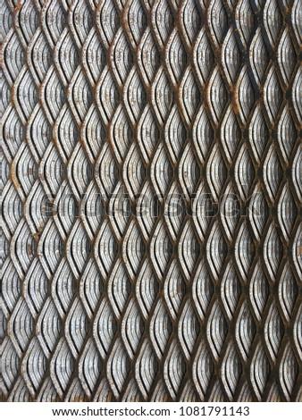 Steel grate, steel Sheet, steel support, steel plate #1081791143