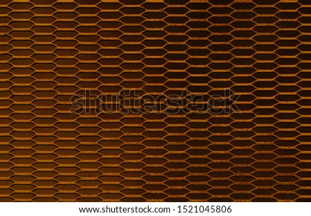 Steel grating for background and texture.Soft focus #1521045806