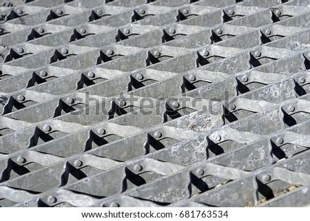 Steel grilling #681763534