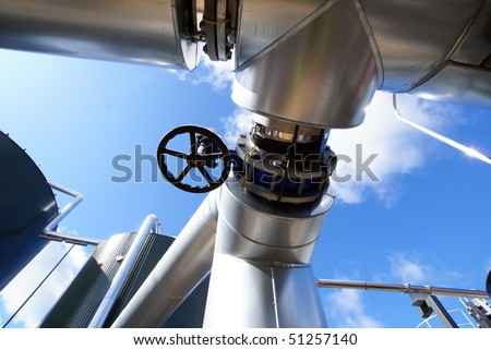 steel industrial pipes