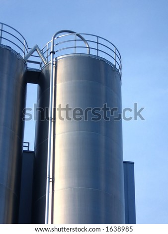 steel industrial tank