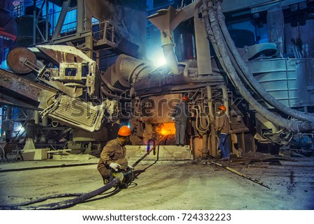 Steel making workshop #724332223