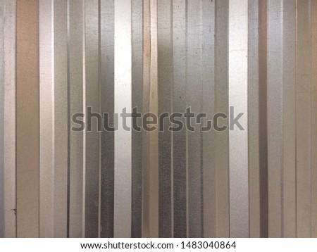 Steel metal sheet on background. Metal sheet